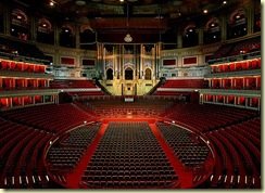 Royal Albert Hall - interior