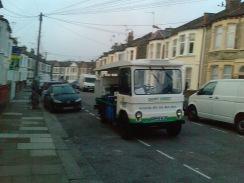 Milk Man Truck in London