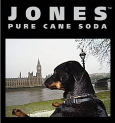 Jones Soda Label - Milo at the Houses of Parliament