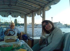 Lorie and Bob on Lake Union