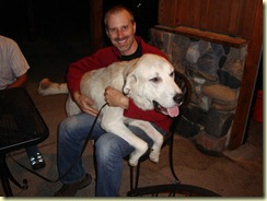 Brian makes a new small friend