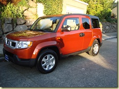 Our new Honda Element