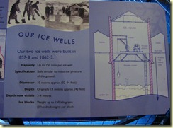 Diagram of an ice well