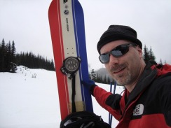 Brian at Hyak March 2010
