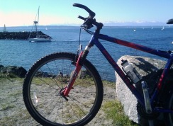 First ride back in the US - Shilshole Bay