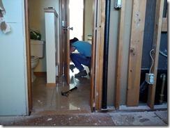 Lorie begins demolition