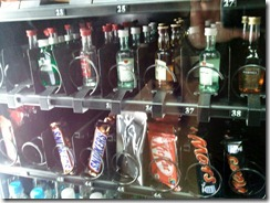Vending Machine Drinks at a Heathrow airport hotel