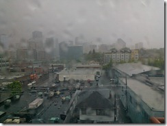 Rainy Seattle from SLU