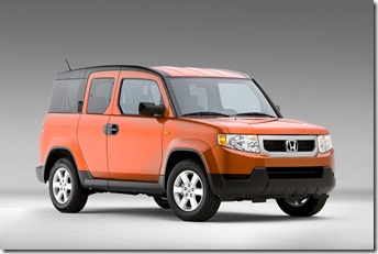 2009_honda_element_orange