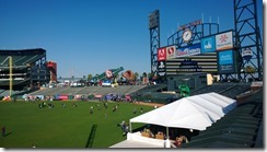 Ski and Snowboard event at ATT Park