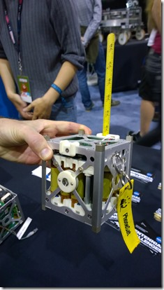 Small satellite ready for space