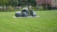 Blob in grass