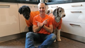 Orange Brian and Poodles on Kings Day 2017