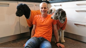 Orange Brian and Poodles on Kings Day - 2017