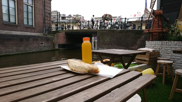 Lunch from the water's edge
