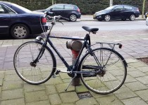 Bike lock - fire hydrant