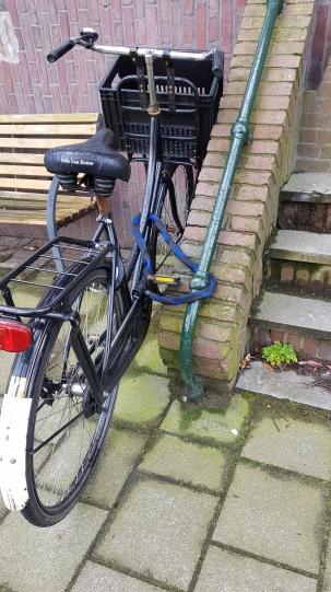 Bike locks - railing