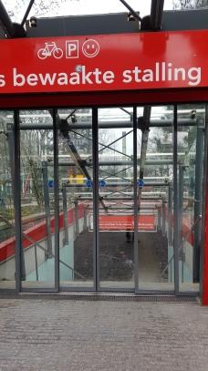 Bike parking - underground