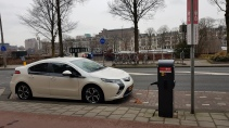 Electric car parking 2