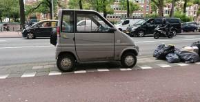 Little gas car