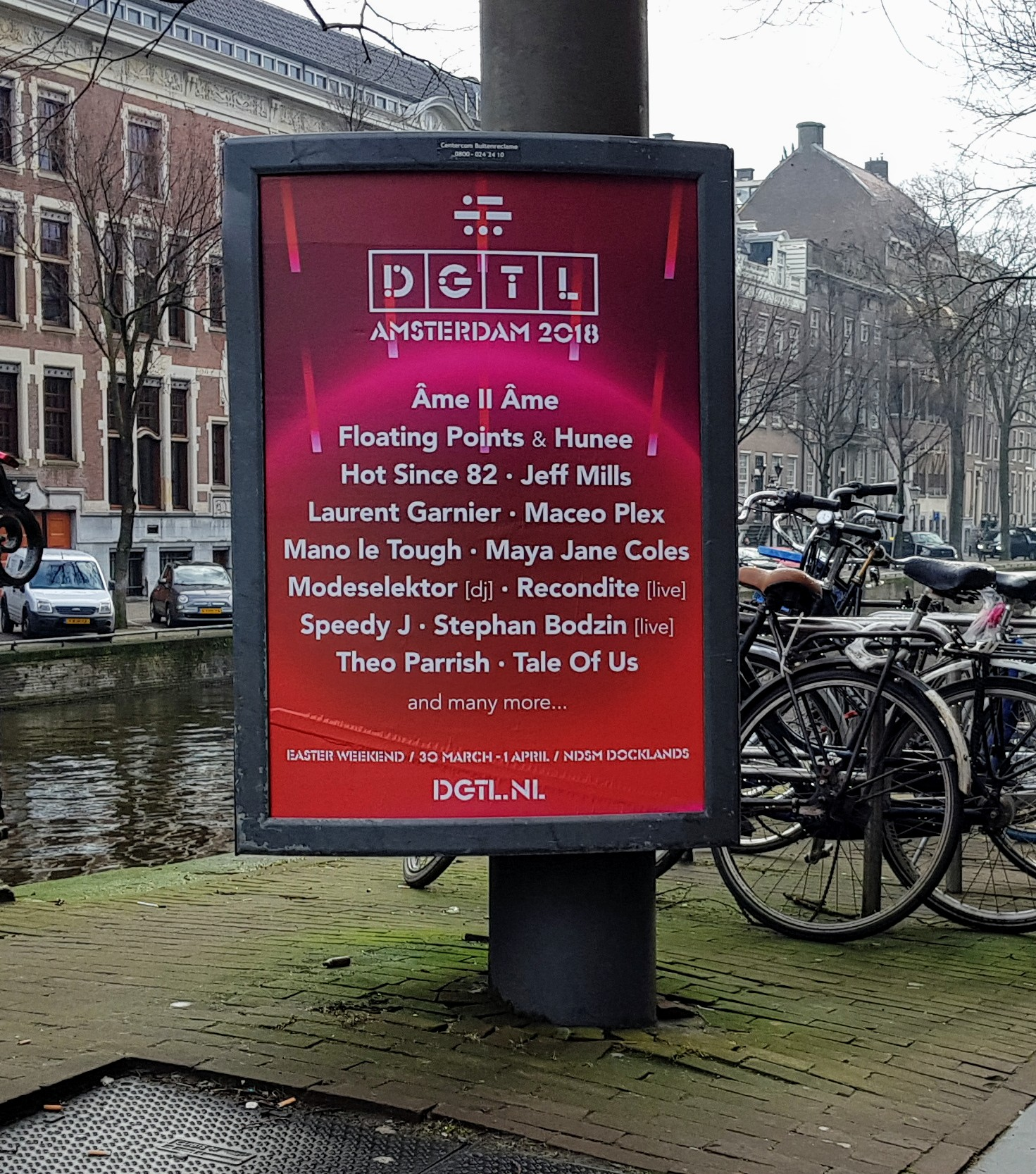 30 Everyday Things in Amsterdam: (8) Event posters | The