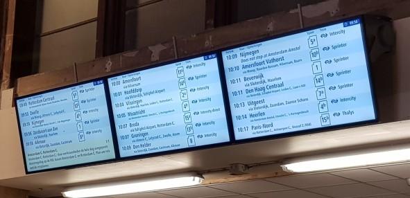 Train signs